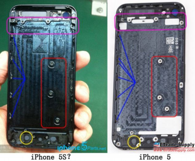 iPhone 5S with Touch On Display?