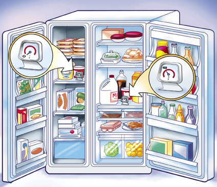learn blogging from fridge