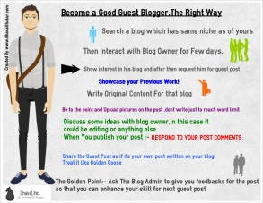 Become a Good Guest Blogger