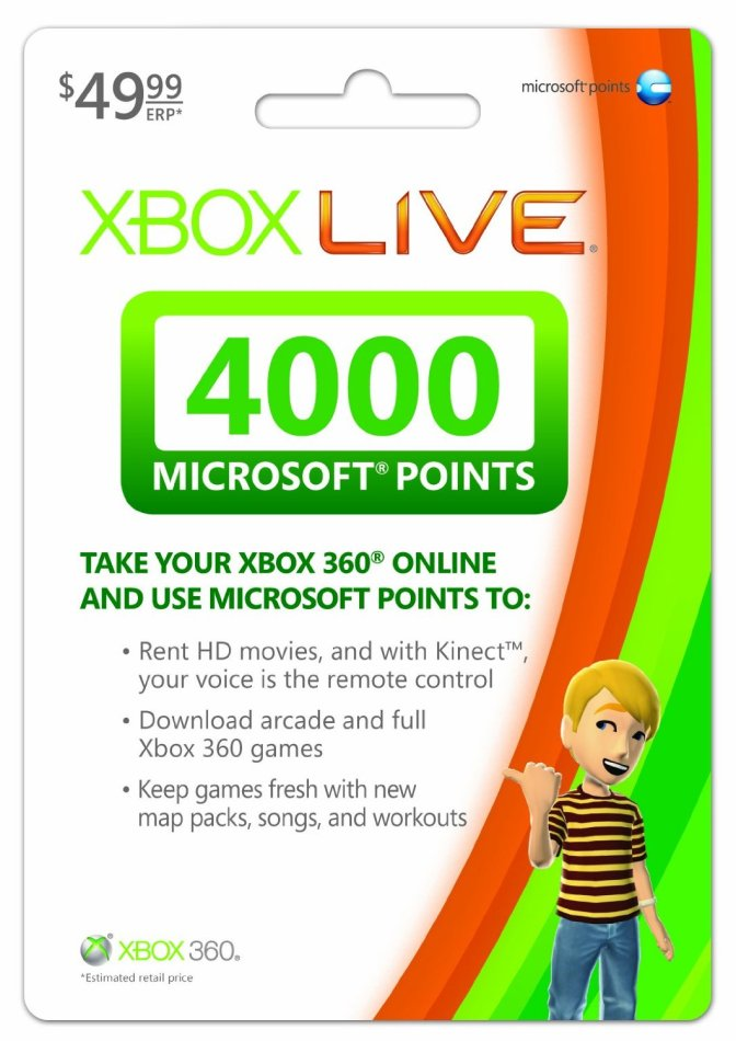 [Tutorial] How To Get Xbox 360 LIVE Points Gift Card For Free